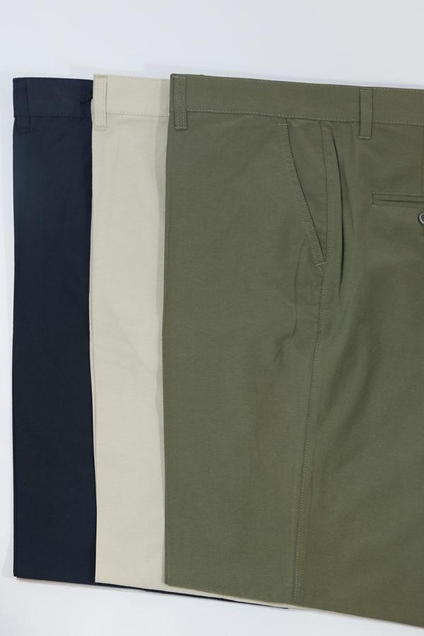 Pantalón poplin algodón