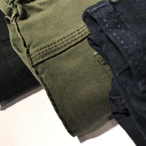 Jeans gabardina elastizada talles grandes.
