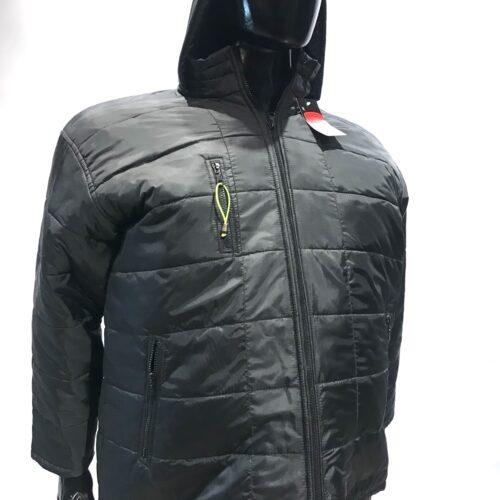 Campera abrigo con capucha talles especiales.