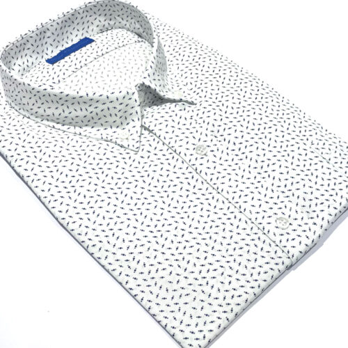 Camisa manga larga talles especiales Juan Manuel.