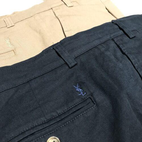 Pantalón gabardina chino elastizado YSL.